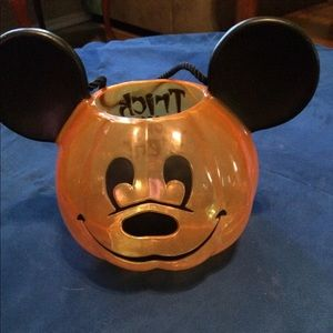 Mickey Mouse trick or treat Halloween bucket